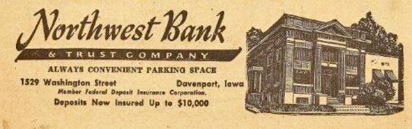 Northwest Bank original location