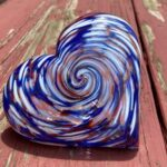 Scott Community College Glass Hearts