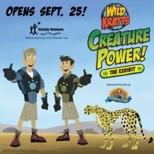 Wild Kratts Exhibit